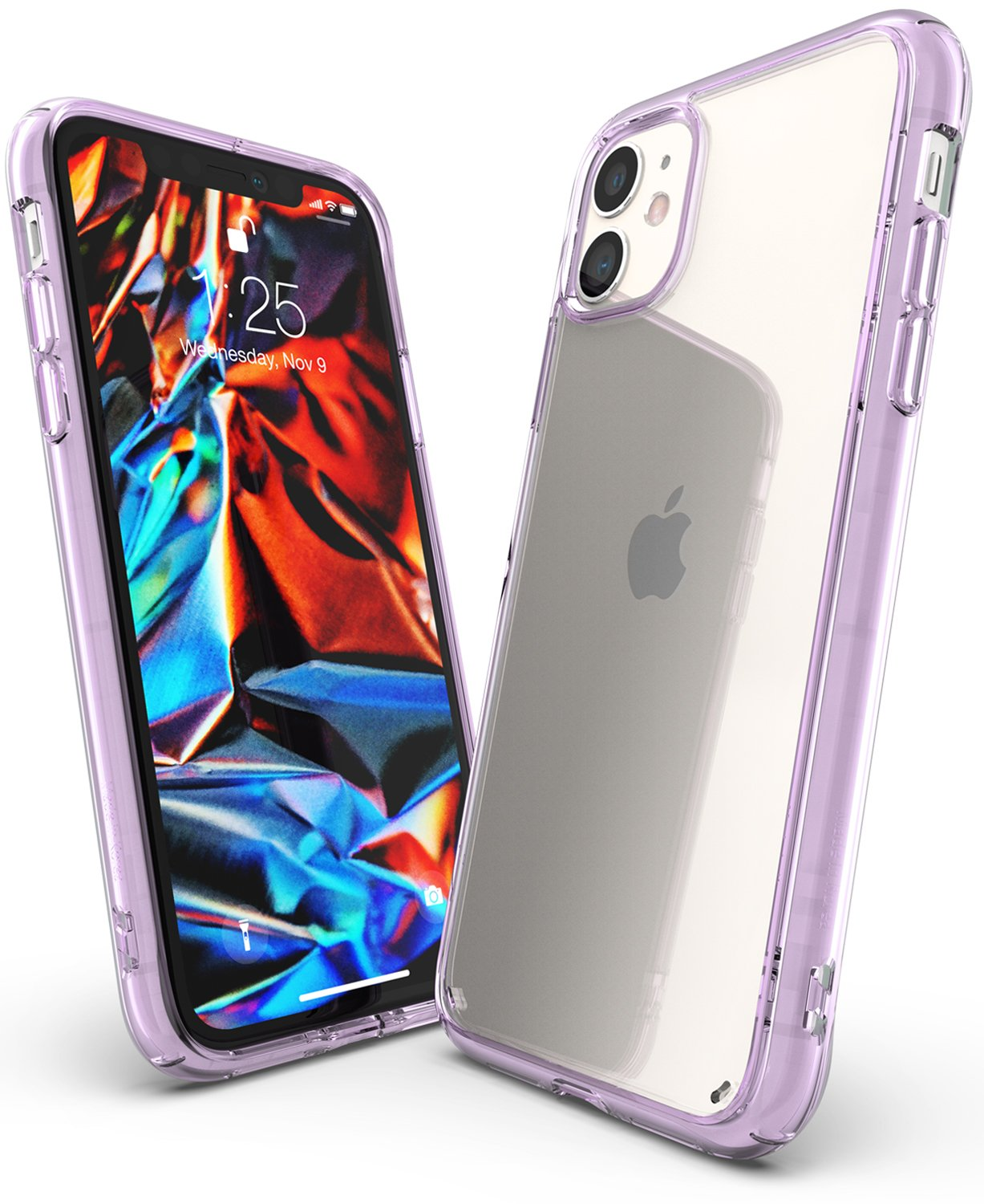 Ringke Fusion designed for iPhone 11 Case Lavender