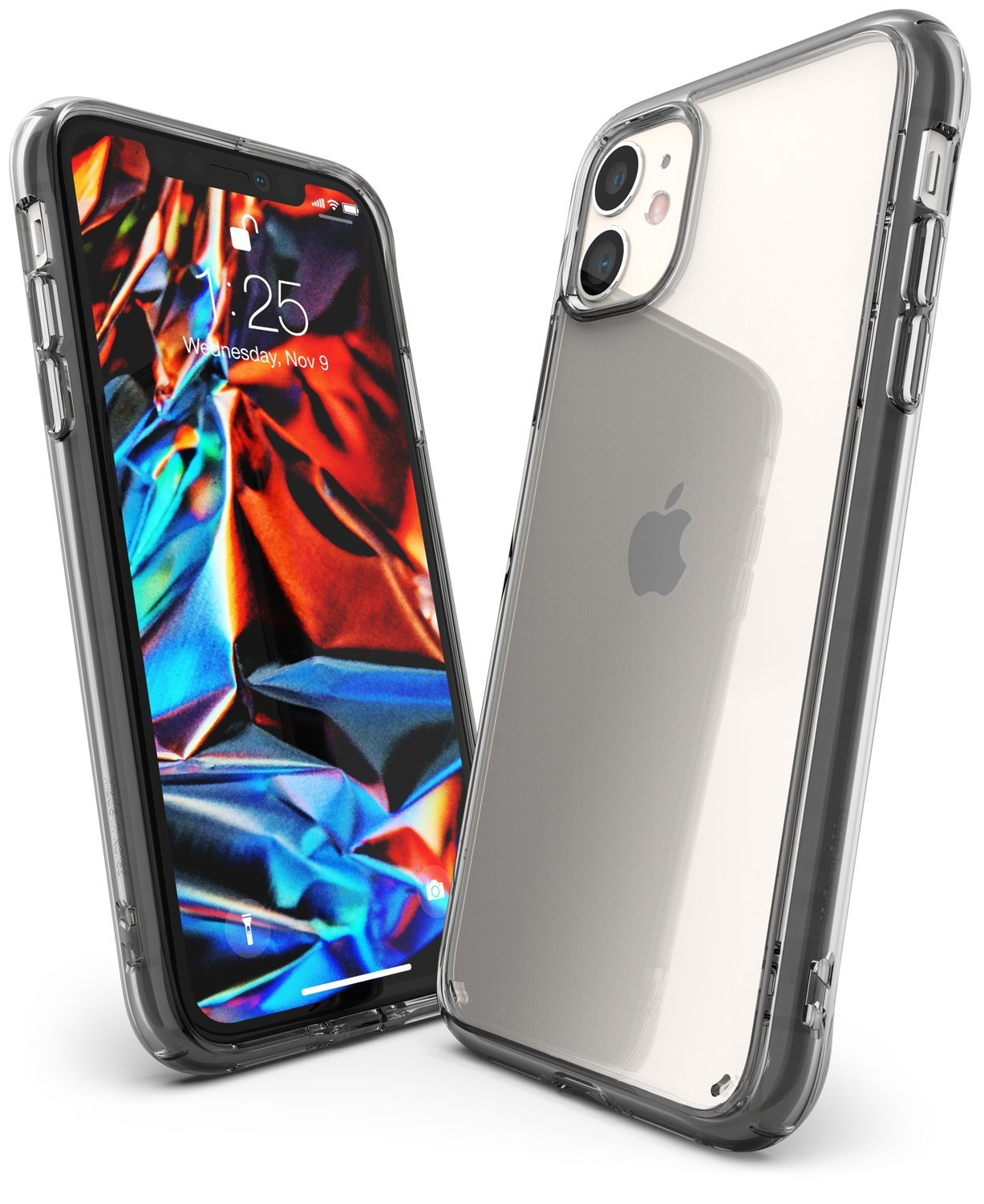 Ringke Fusion designed for iPhone 11 Case Smoke Black