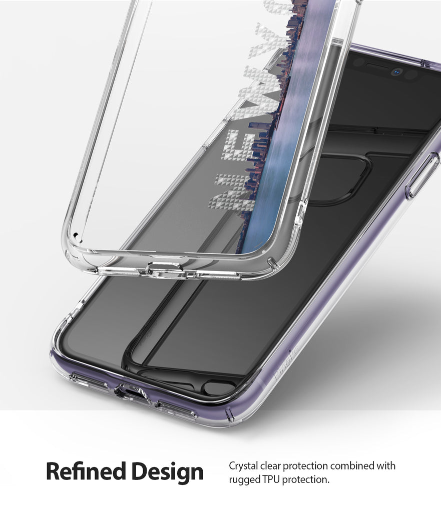 crystal clear protection combined with rugged tpu proteciton
