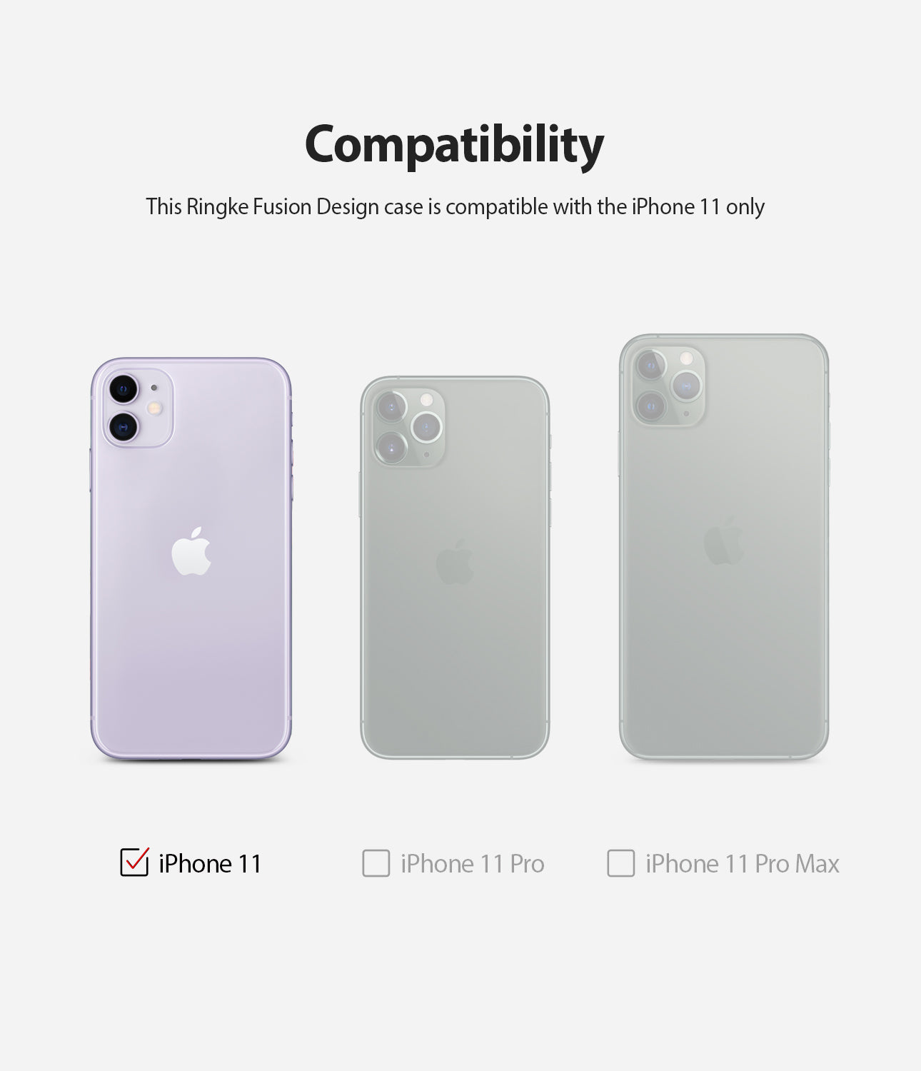 compatible only with apple iphone 11