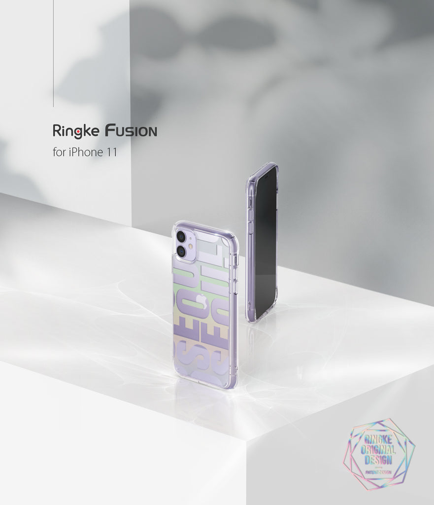 ringke fusion design case compatible with apple iphone 11 (2019)