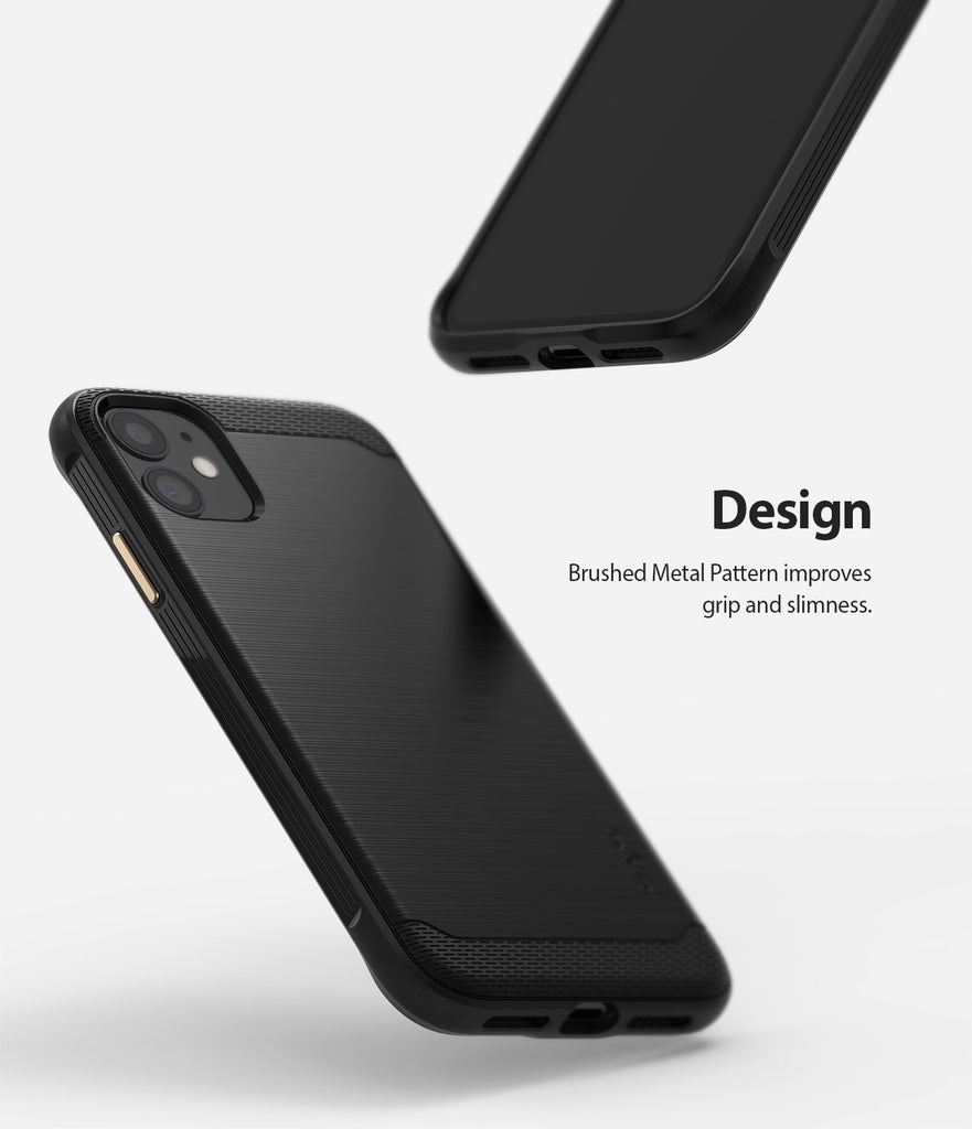 Ringke Onyx designed for iPhone 11 Black Design