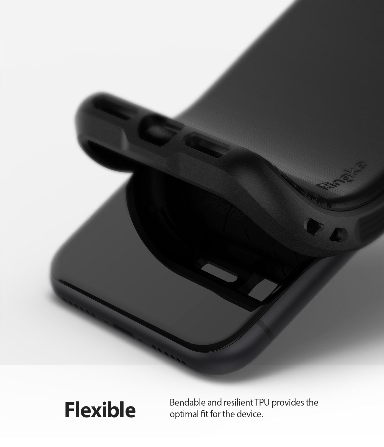 Ringke Onyx designed for iPhone 11 Black TPU Flexible