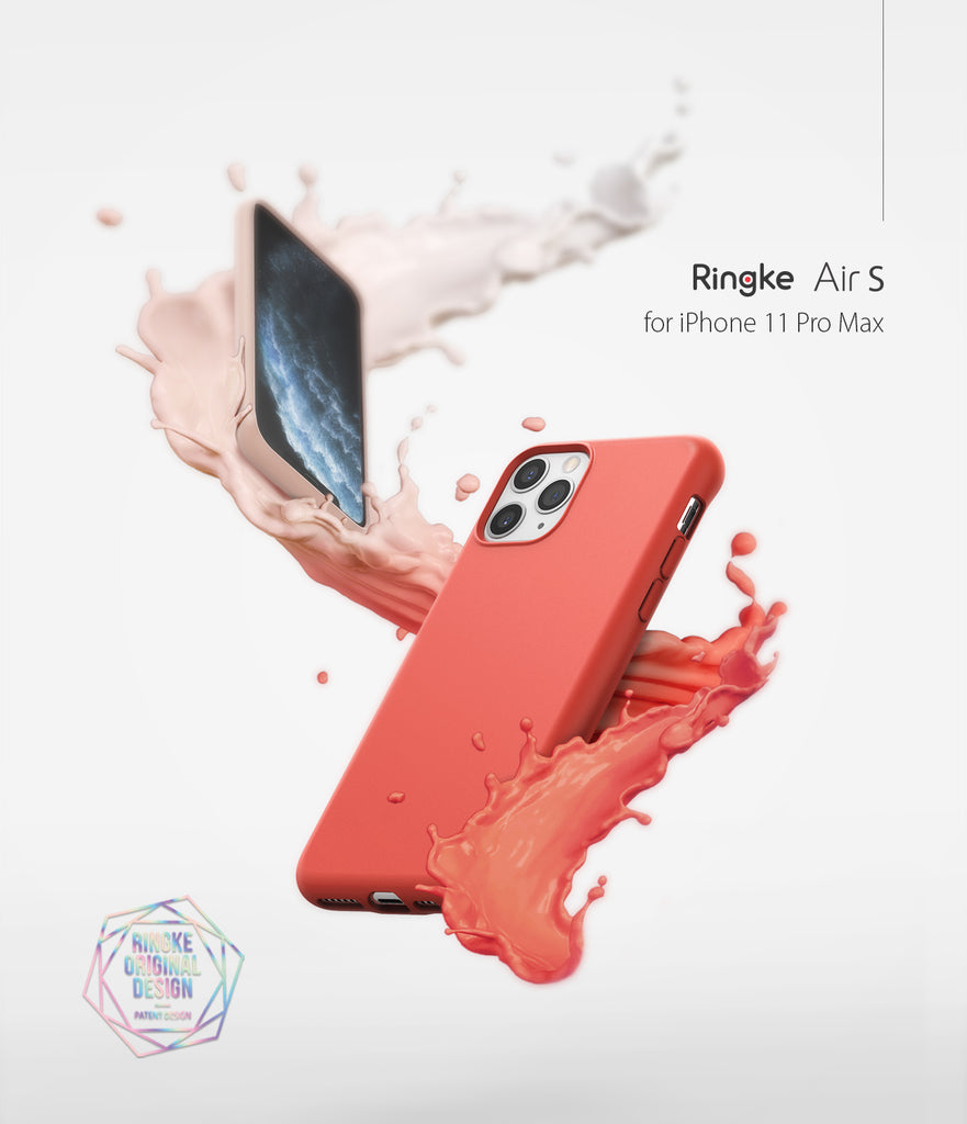 Ringke Air-S Designed for iPhone 11 Pro Max Case slim lightweight