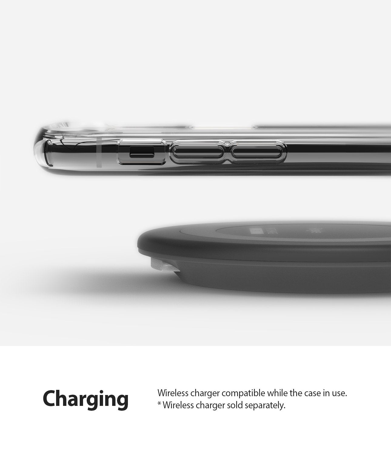 Ringke Air designed for iPhone 11 Pro Case wireless charger compatible