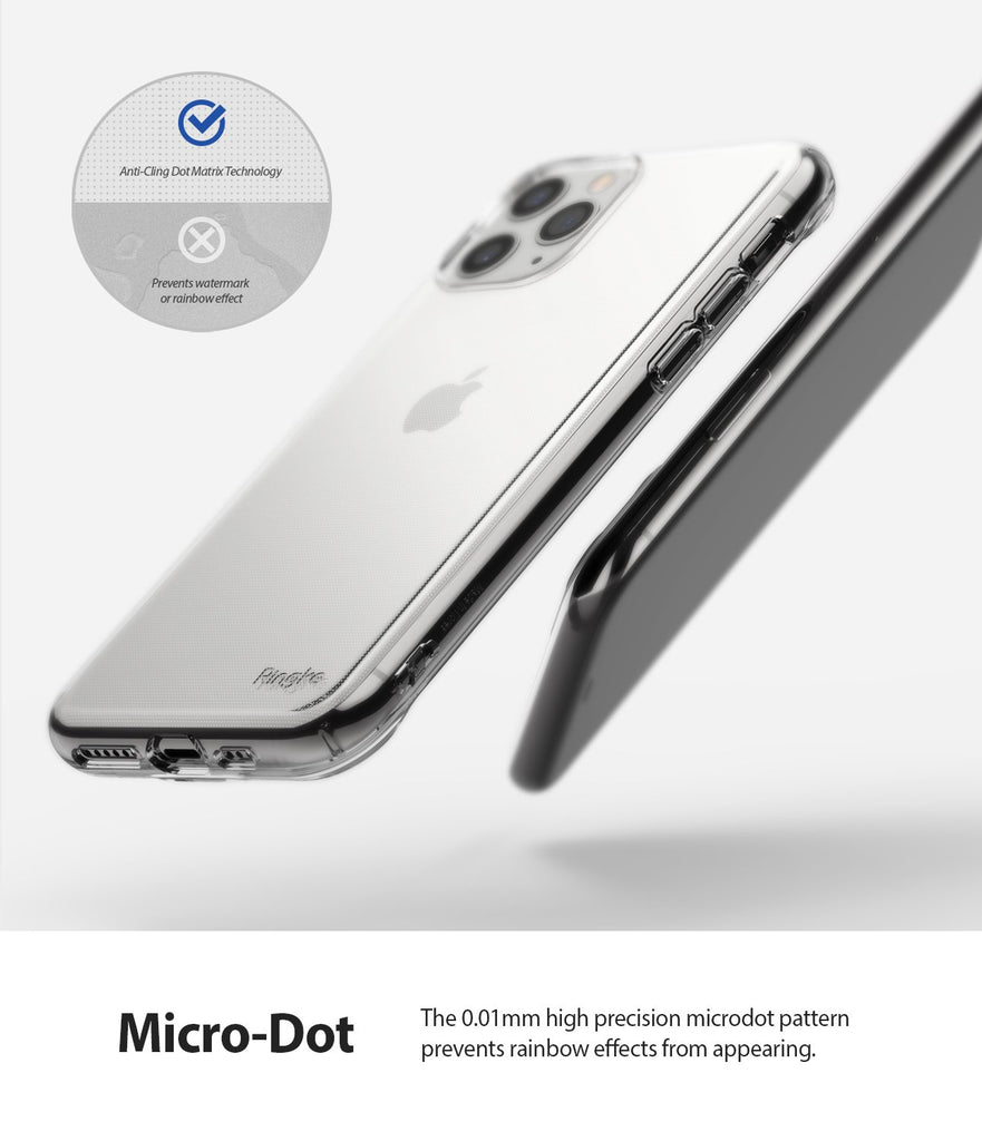 Ringke Air designed for iPhone 11 Pro Case clear micro-dot