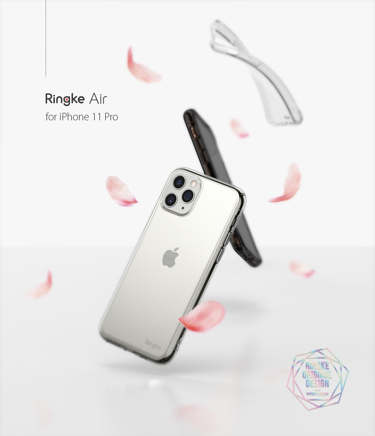 Ringke Air designed for iPhone 11 Pro Case clear smoke black