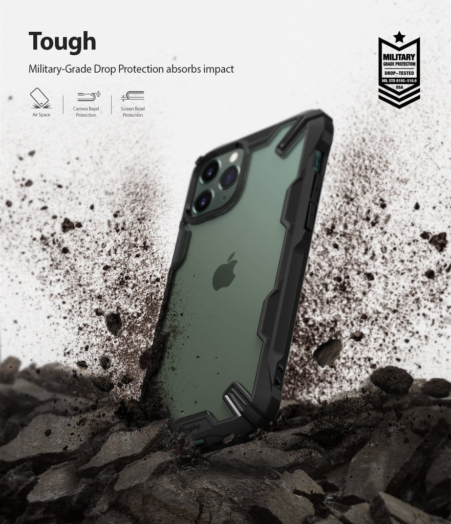 iPhone 11 Pro Case Fusion-X military grade drop protection tough