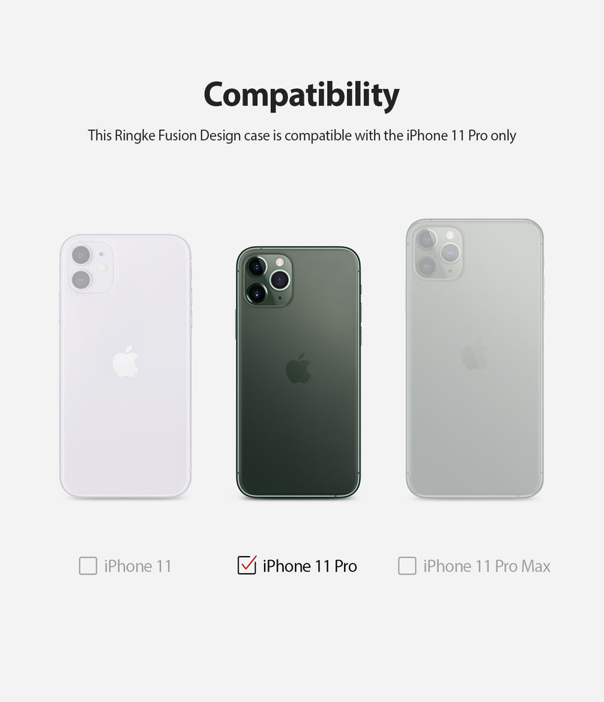 compatible with apple iphone 11 pro