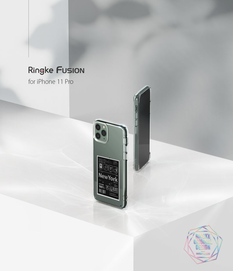Ringke Fusion Designed for iPhone 11 Pro Case, iPhone XI Pro Case Cover (2019)