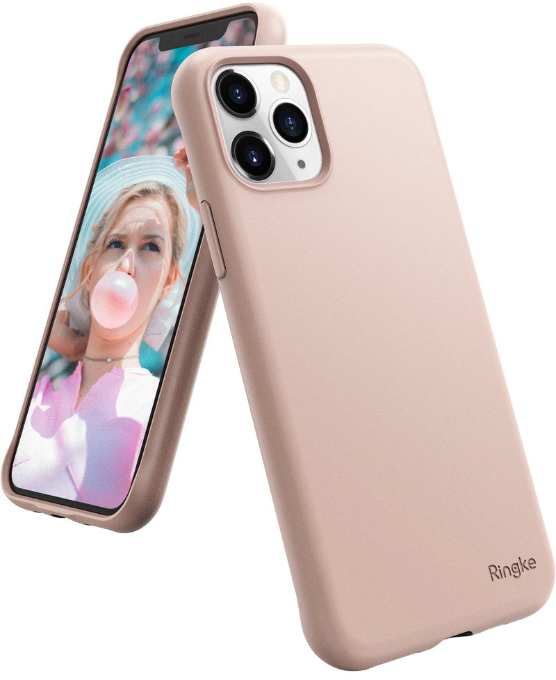 Ringke Air-S Designed for iPhone 11 Pro Max Case, iPhone XI Pro Max Case Cover (2019) - Pink Sand