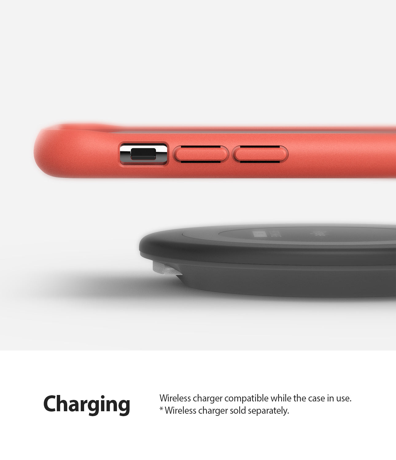 Ringke Air-S Designed for iPhone 11 Pro Max Case Wireless Charger Compatible