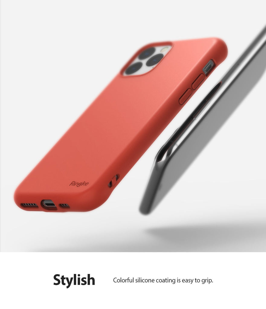 Ringke Air-S Designed for iPhone 11 Pro Max Case Stylish Design Silicone Feeling Texture