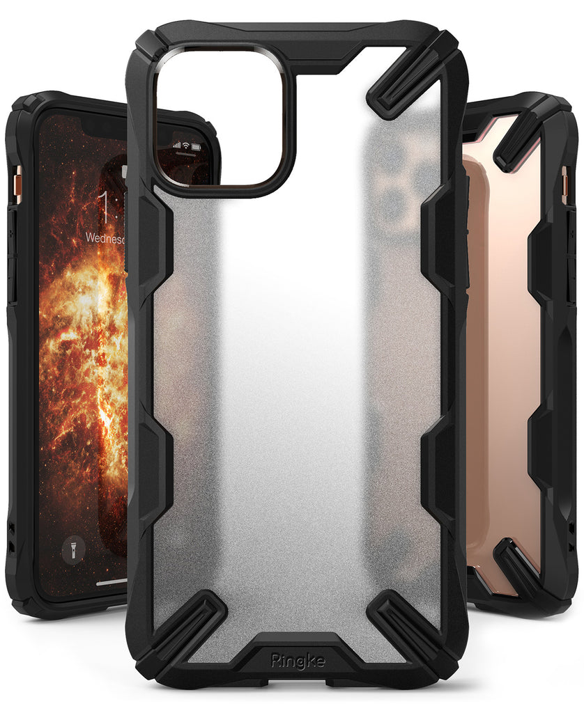 Ringke Fusion-X Matte Designed Case for iPhone 11 Pro Max black
