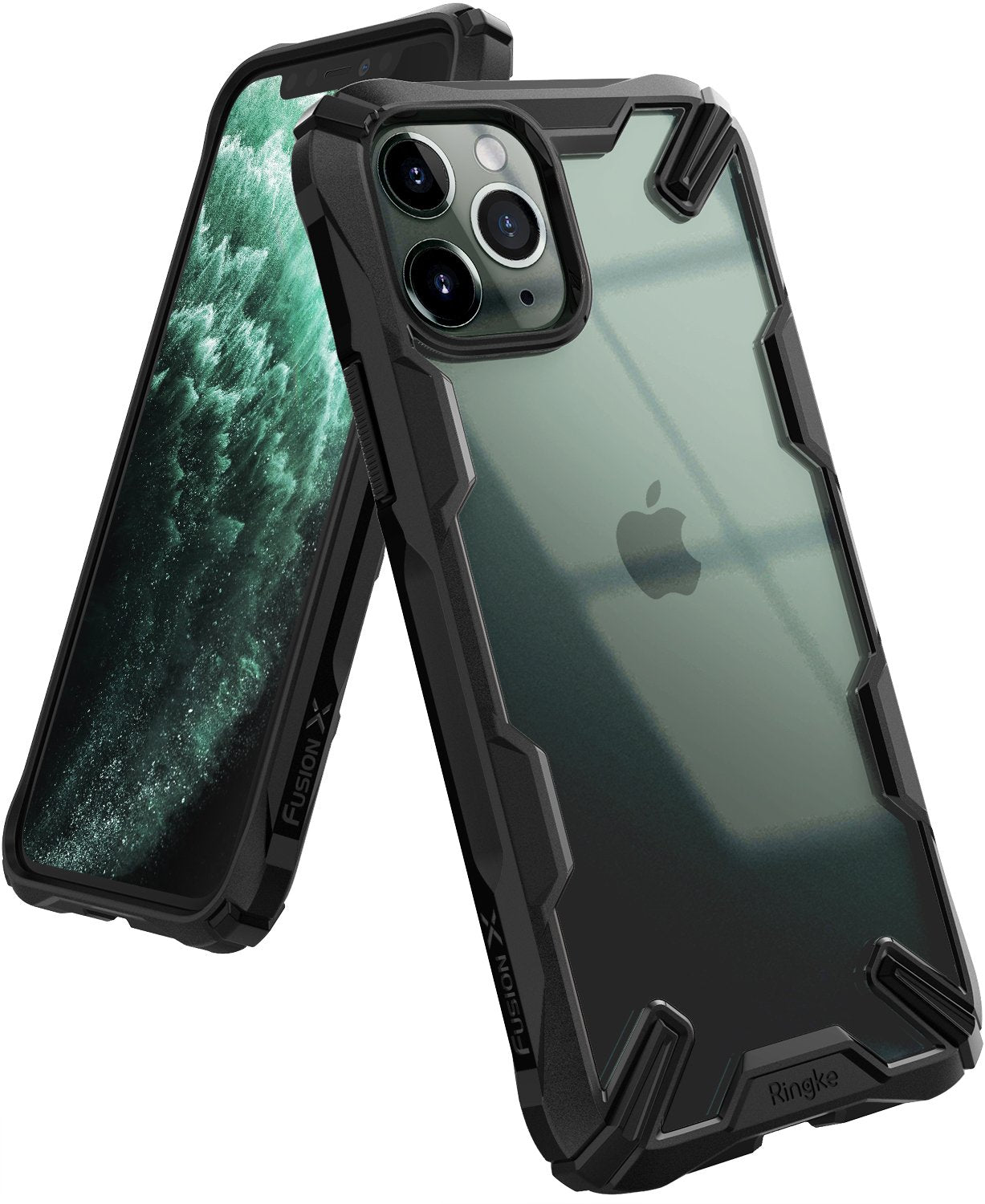 Ringke Fusion X Designed for apple iPhone 11 Pro MAX Case Black