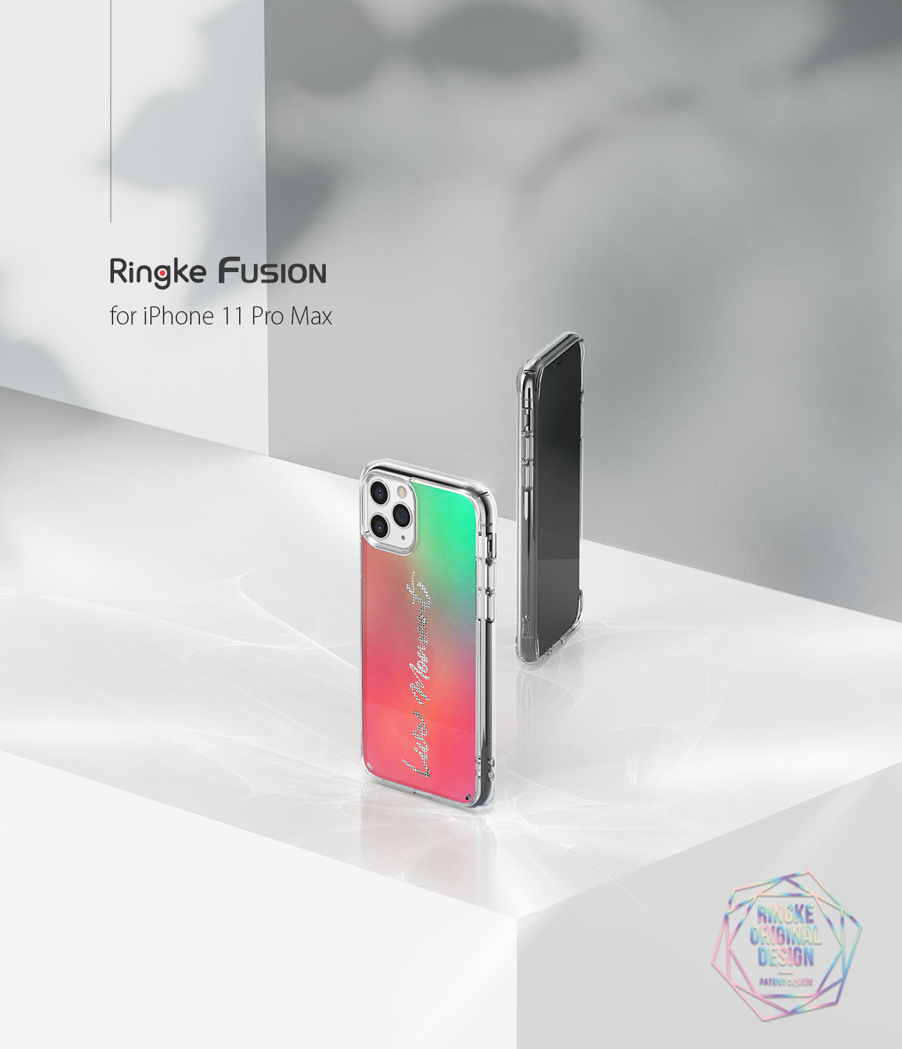 apple iphone 11 pro max case ringke fusion design cover -  live moment