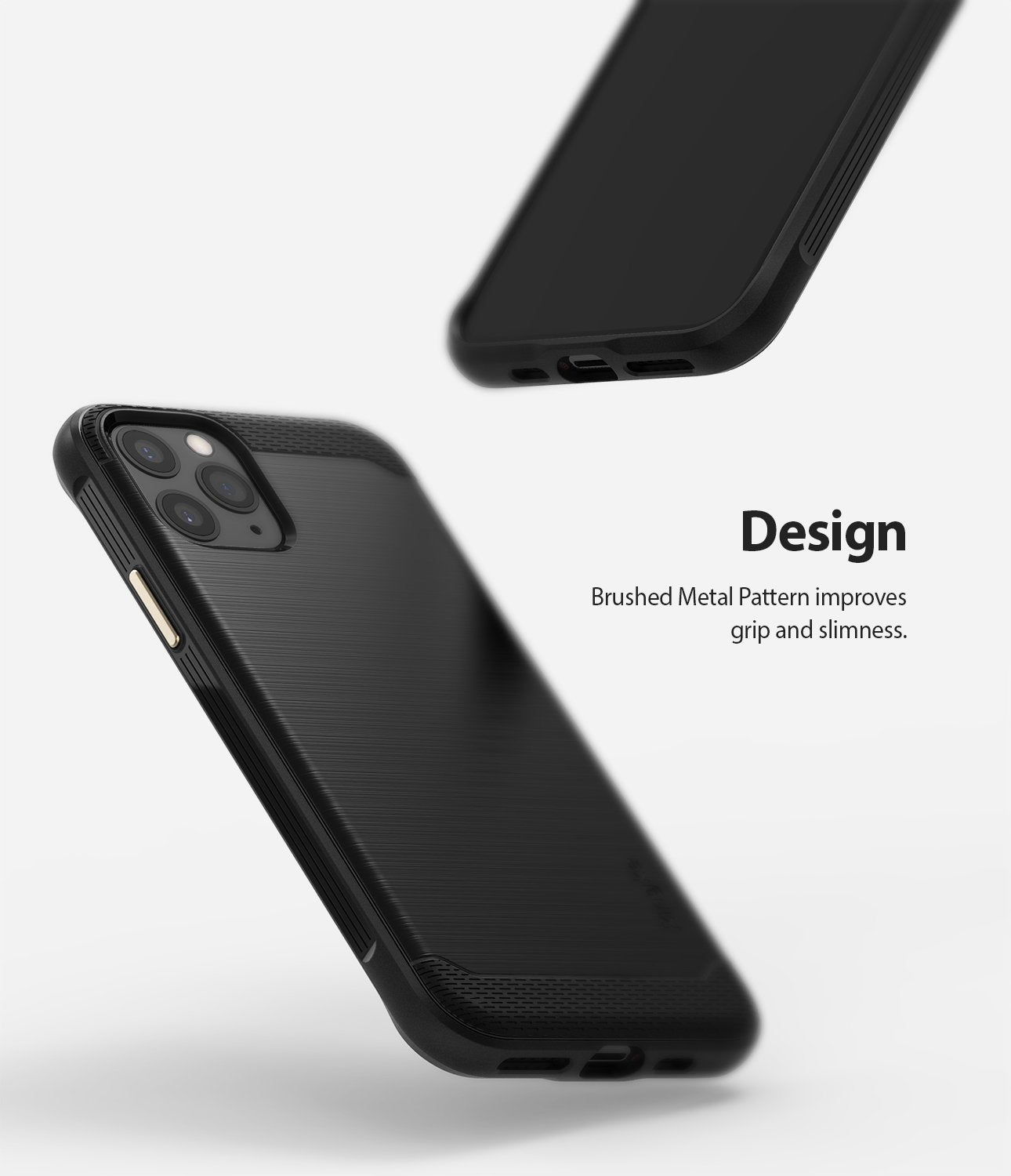 Ringke Onyx Case compatible with iPhone 11 Pro Black Slim Design