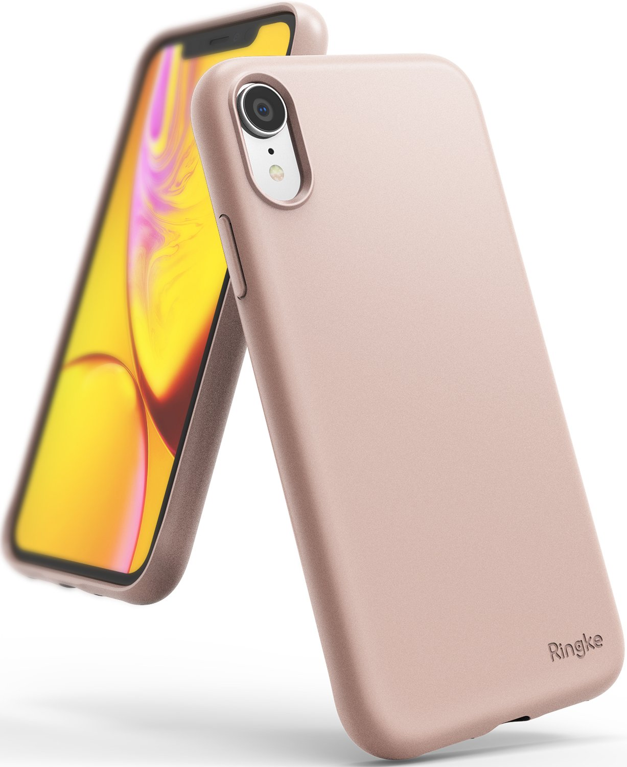 ringke air-s for iphone xr case cover main pink sand