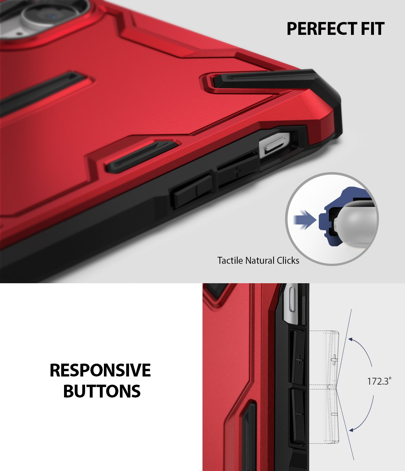 ringke dual-x for iphone xr case cover main perfect fit