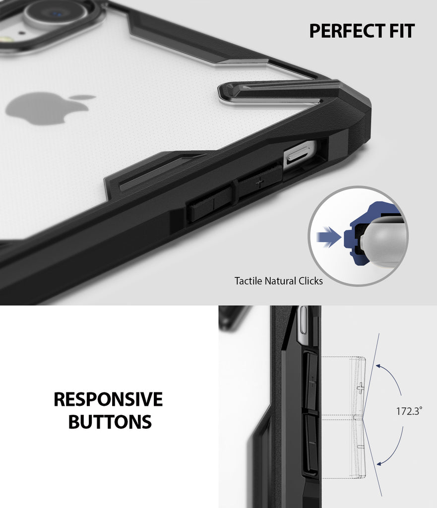 ringke fusion-x for iphone xr case cover main perfect fit