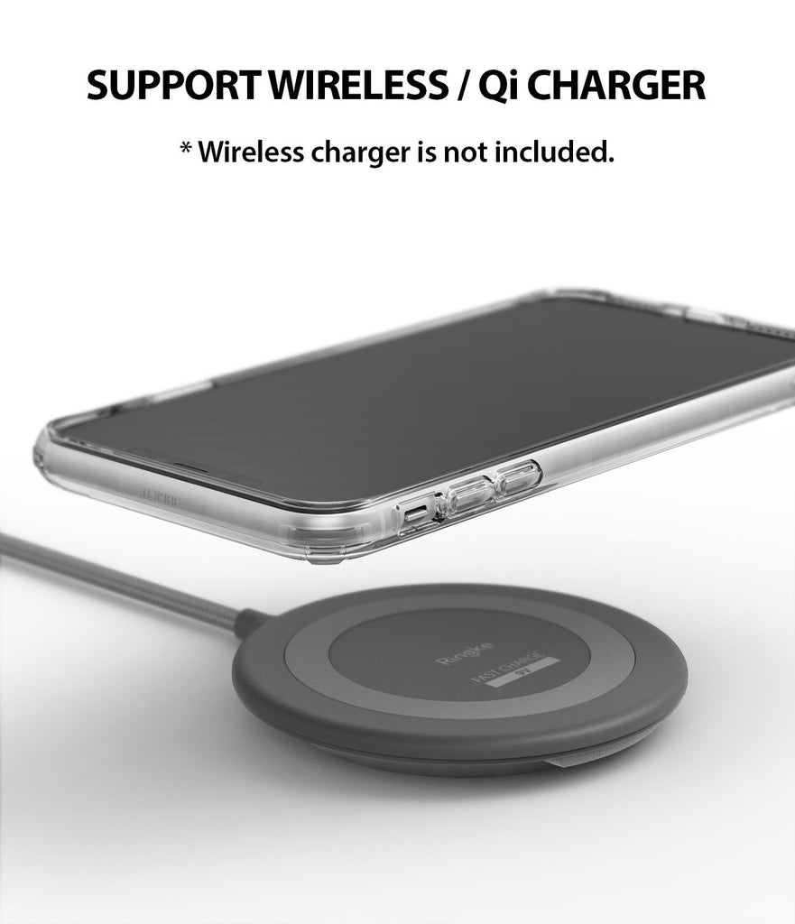 ringke fusion for apple iphone xr case cover wireless charging compatible