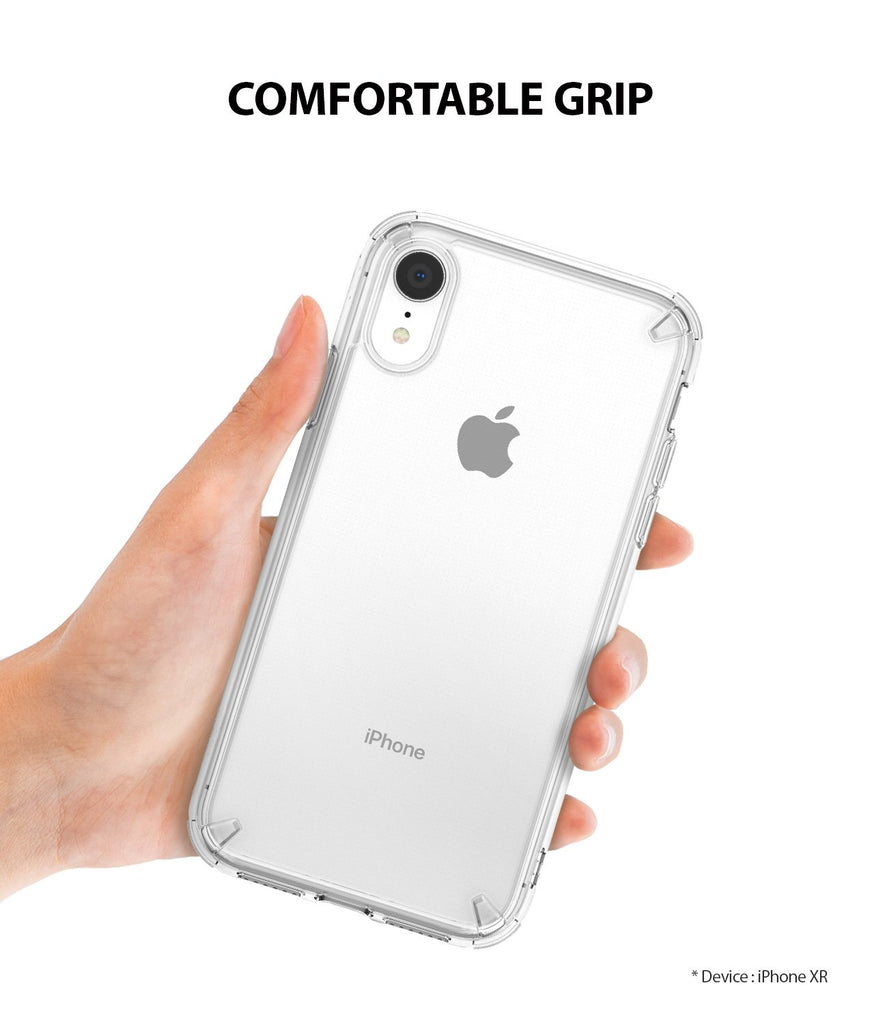 ringke fusion for apple iphone xr case cover comfortable grip