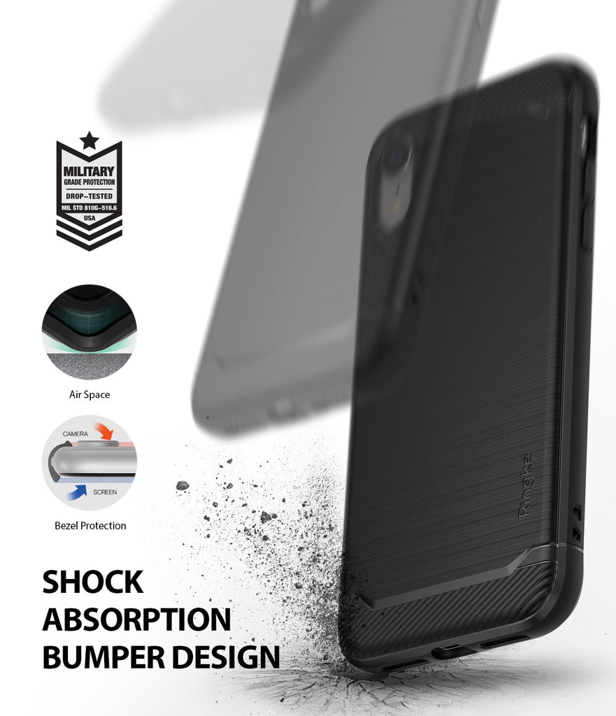 ringke onyx for iphone xr case cover shockproof protection