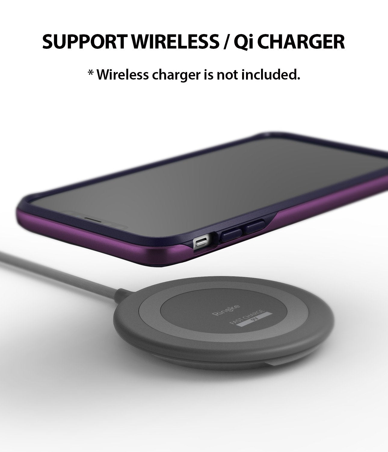 ringke wave for iphone xr case cover wireless charging compatible