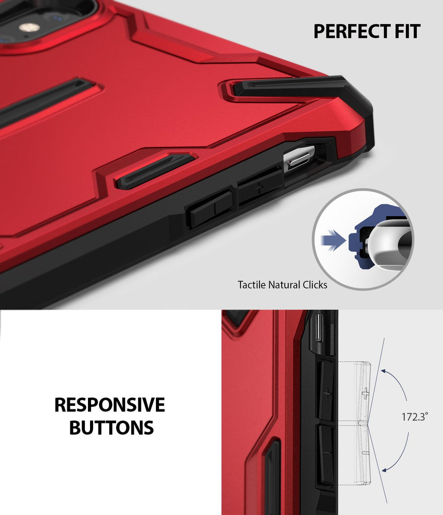 ringke dual-s for iphone xs case cover perfect fit