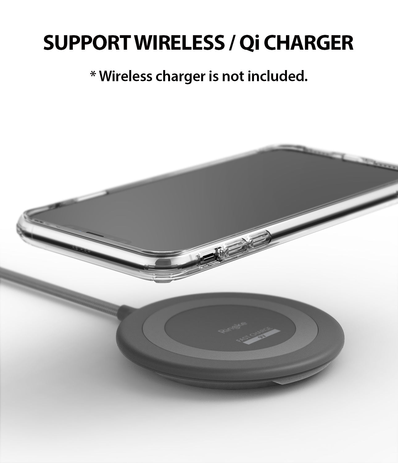 ringke fusion for apple iphone xs max case cover wireless charging compatible