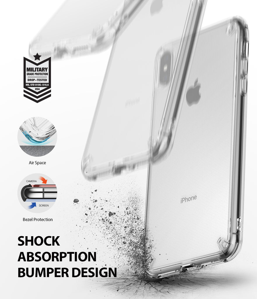 ringke fusion for apple iphone xs max case cover main detail image
