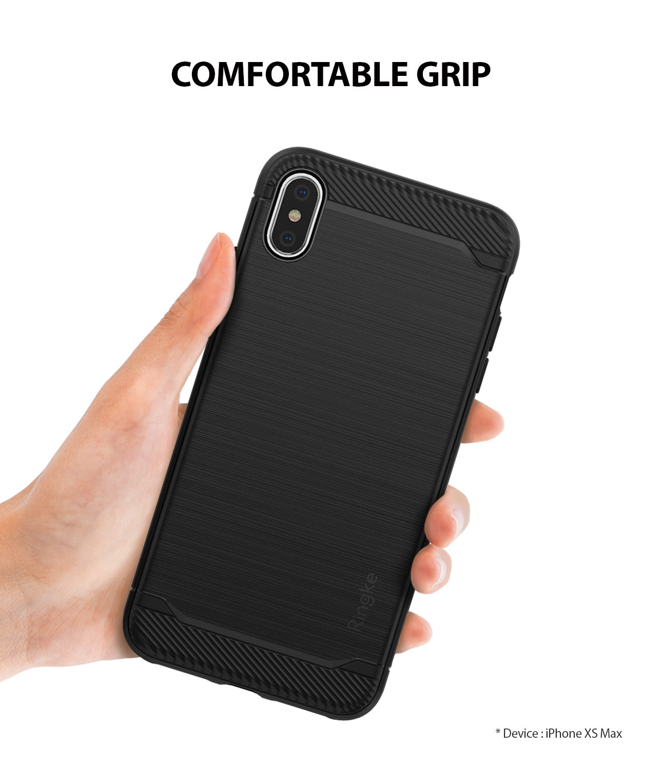 ringke onyx for apple iphone xs max case cover holding