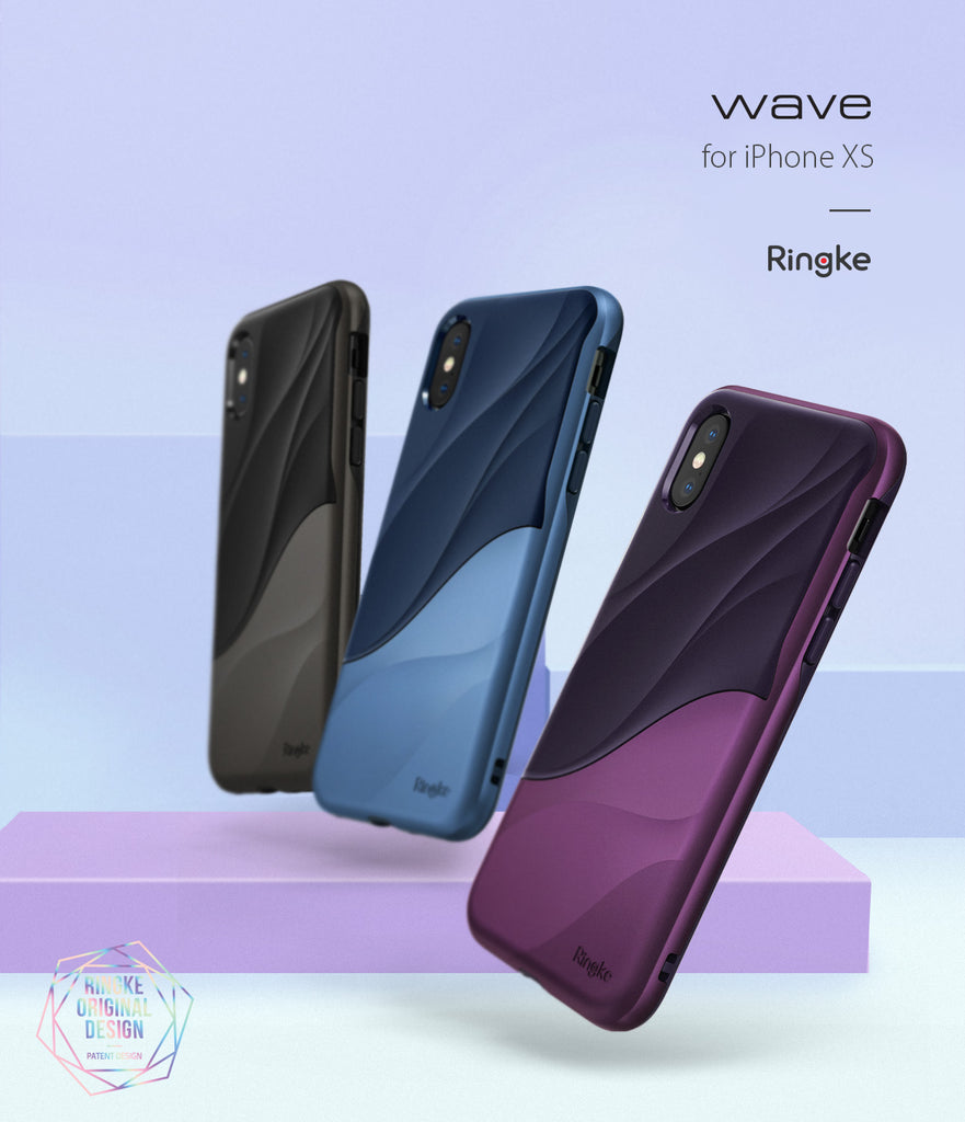 ringke wave for iphone xs case cover main