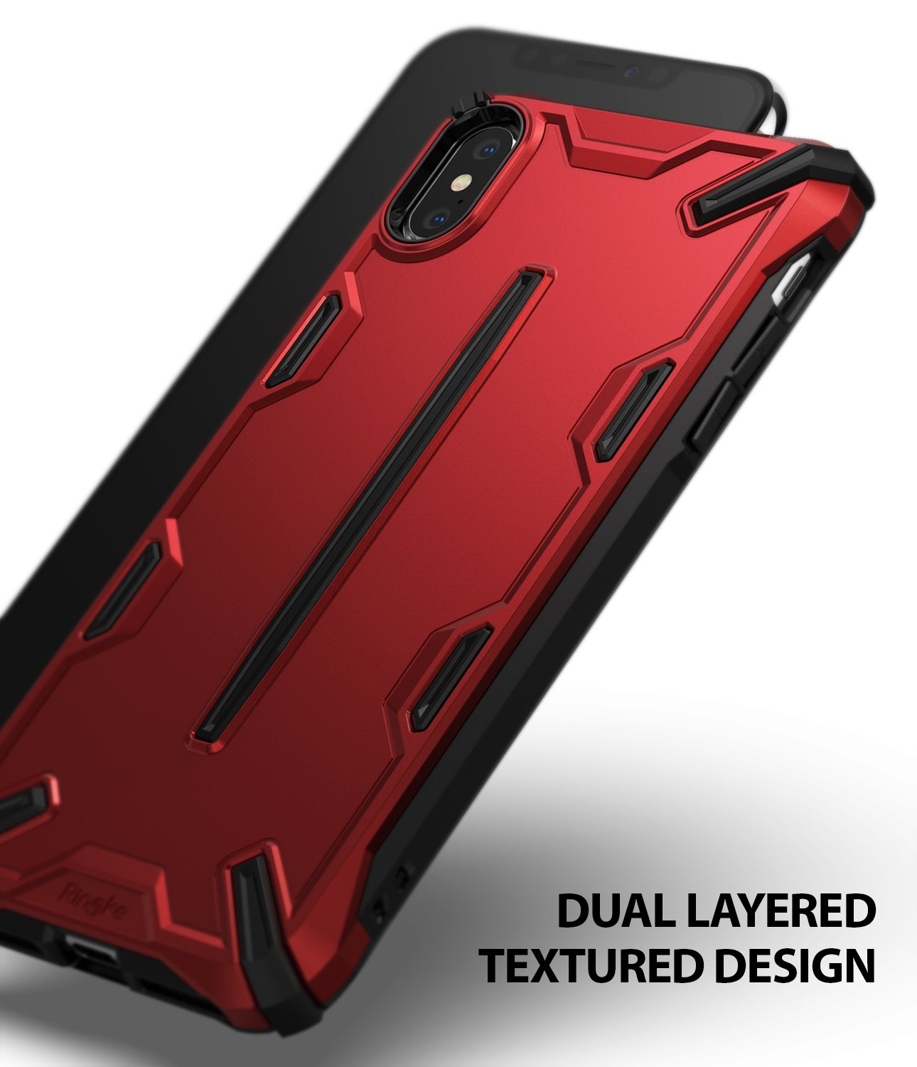 ringke dual-s for iphone xs case cover dual layered design