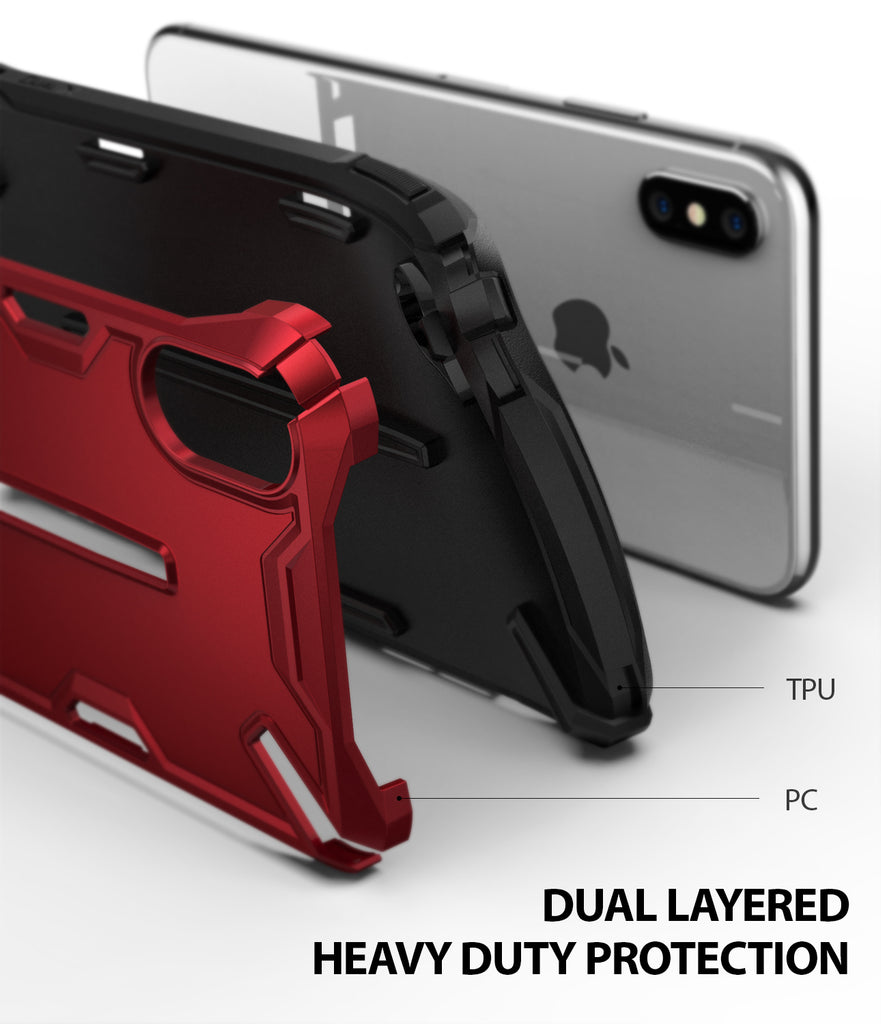 ringke dual-s for iphone xs case cover dual layered protection
