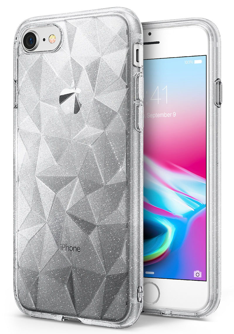 Ringke Air Prism for iPhone 8 and iPhone 7 Glitter Clear