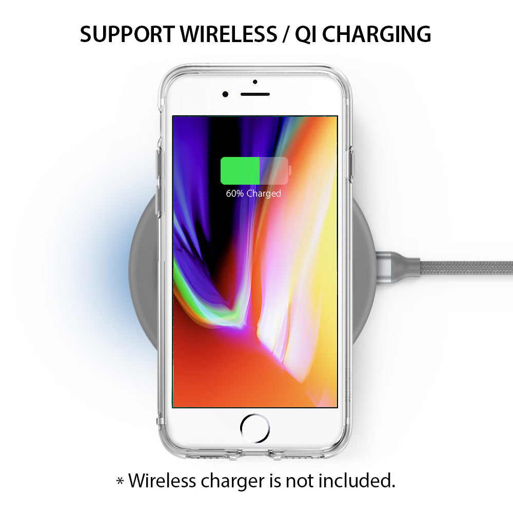 ringke fusion for iphone 7 8 case cover main wireless charging compatible