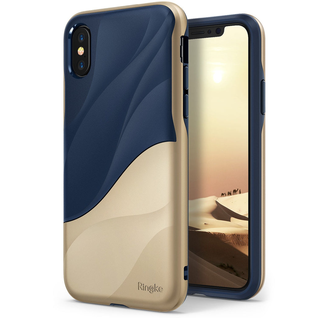 ringke wave for iphone x case cover main marina gold