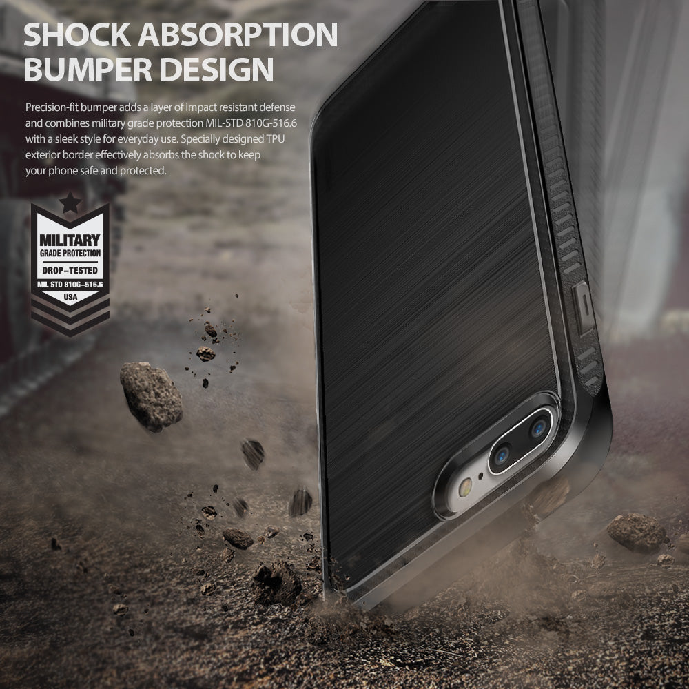 ringke onyx rugged flexible tpu case cover for iphone 7 plus 8 plus main shockproof protection