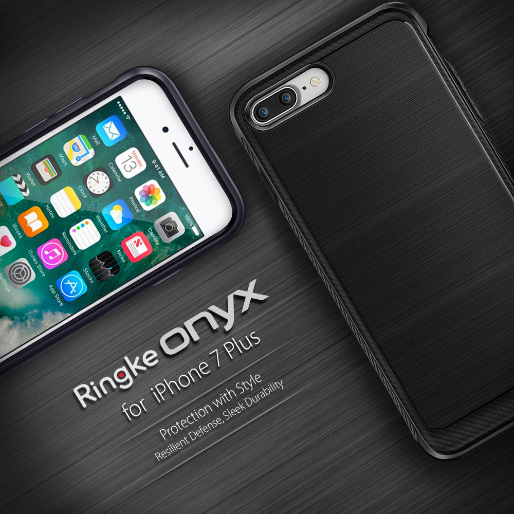 ringke onyx rugged flexible tpu case cover for iphone 7 plus 8 plus main