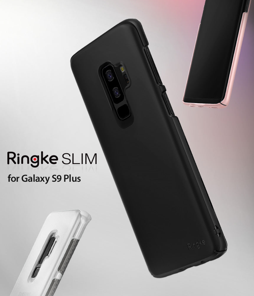 ringke slim lightweight thin hard pc back cover for galaxy s9 plus
