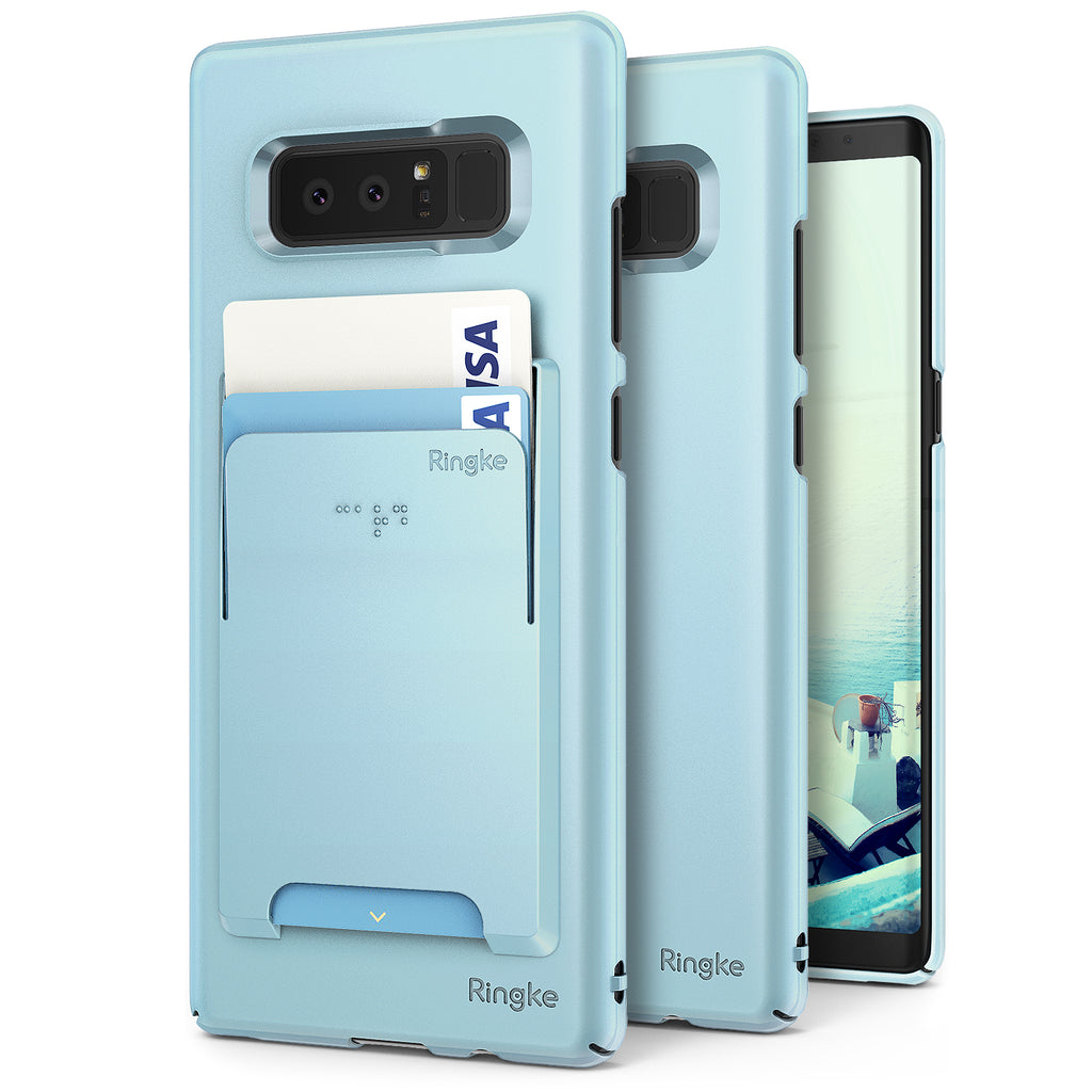 samsung galaxy note 8 ringke slim case case sky blue