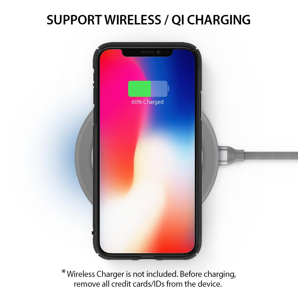 ringke slim slot for iphone x case cover main wireless charging compatible