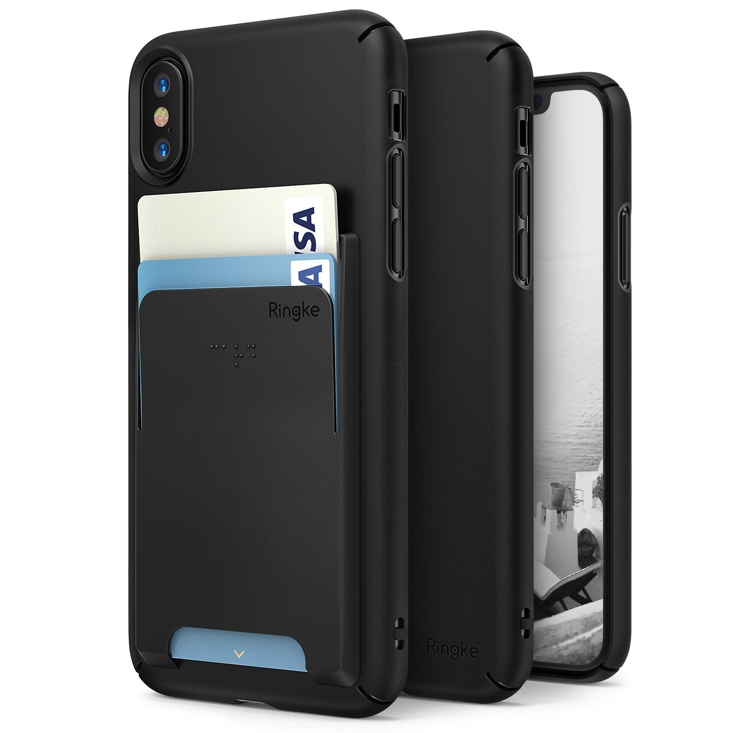 ringke slim slot for iphone x case cover main
