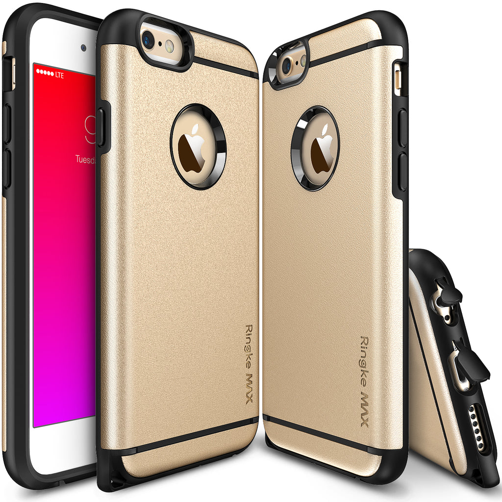 ringke max heavy duty rugged hard case cover for iphone 6 6s main royal gold