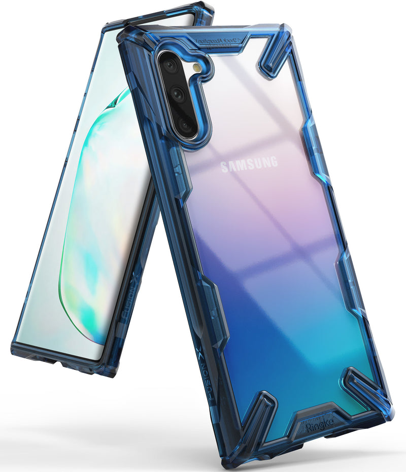 Ringke Fusion-X case for Galaxy Note 10 5G (2019) Space Blue