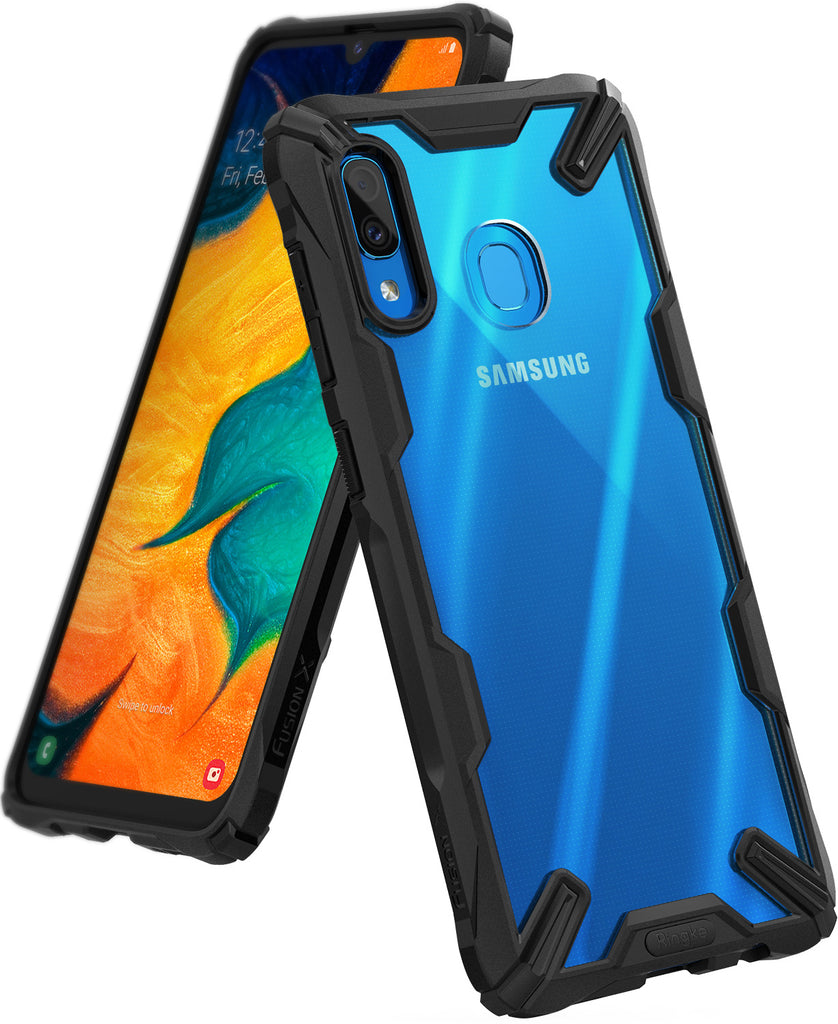 galaxy a30 fusion-x case black
