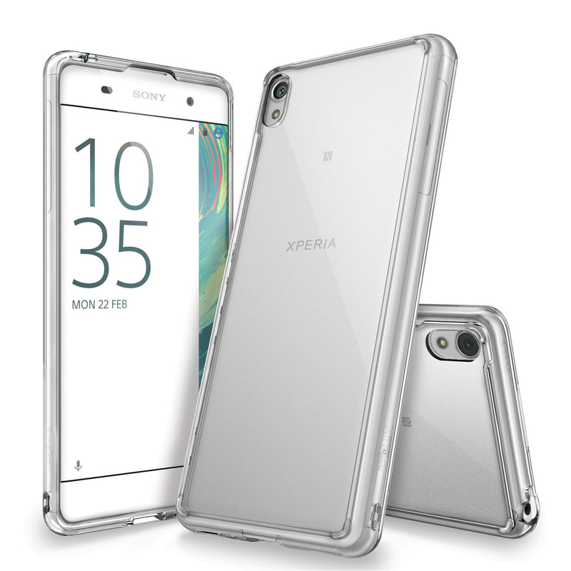 Xperia XA Case, Ringke® [FUSION] Crystal Clear PC Back TPU Bumper Case