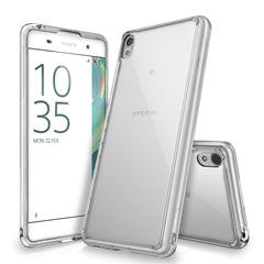 Xperia XA Case, Ringke®[FUSION] Crystal Clear PC Back TPU Bumper Case