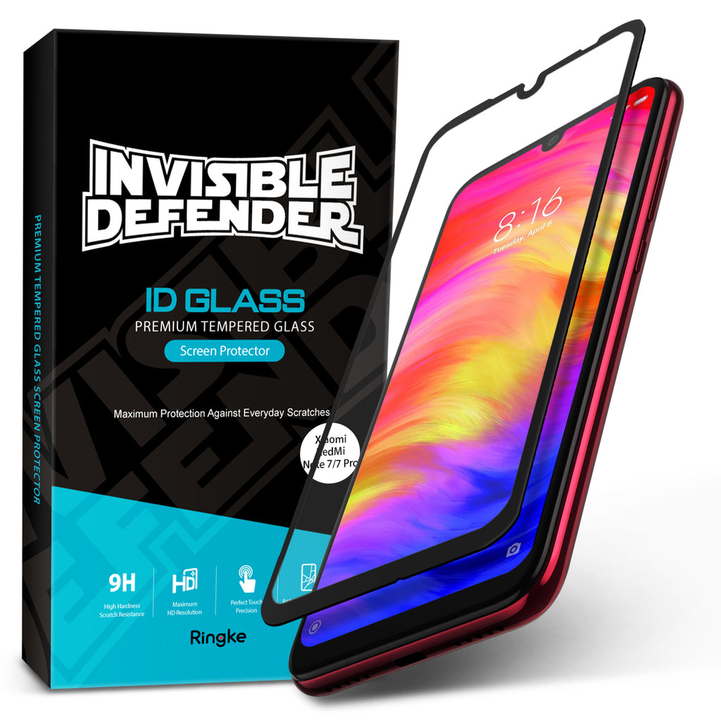 Xiaomi Redmi Note 7 / Note 7 Pro  [INVISIBLE DEFENDER GLASS] Full Coverage Screen Protector